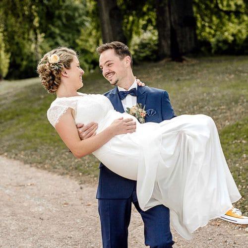 Park Tiefurt Hochzeitsfotos